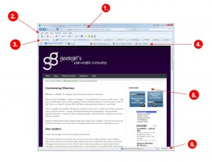 Common browser features