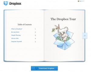 Dropbox Tour