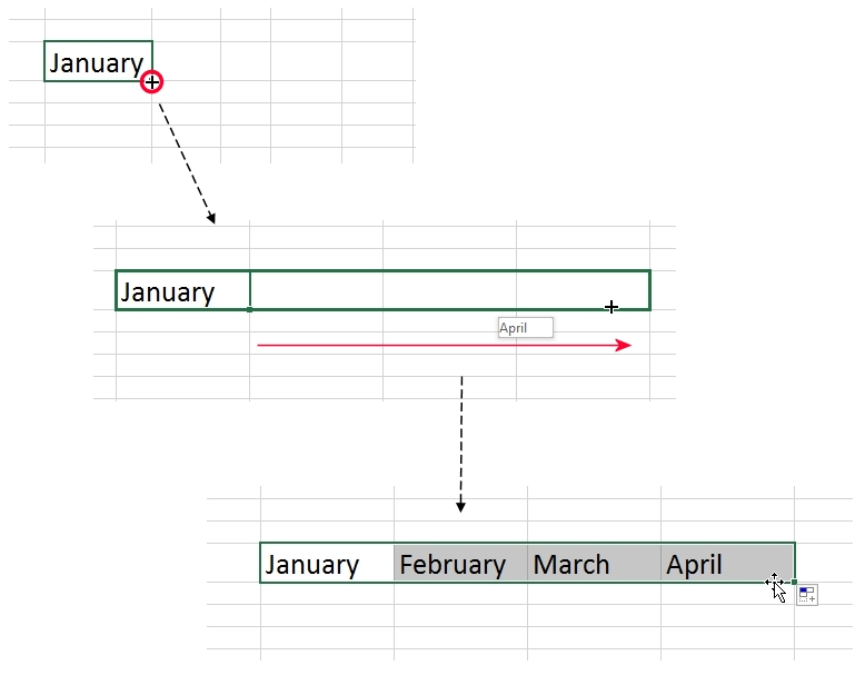 Auto-fill in Excel