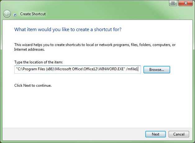 Automatically open the last edited document in Word | Geekgirl's