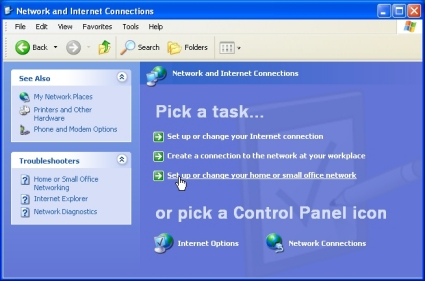 Setting up a home network on windows xp | geekgirl's plain english.